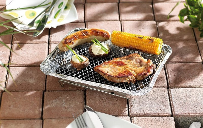barbecue jetable usage unique